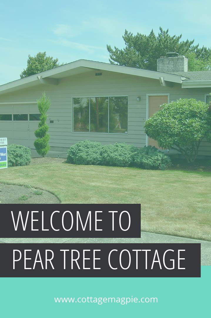 Welcome to Pear Tree Cottage - via www.cottagemagpie.com