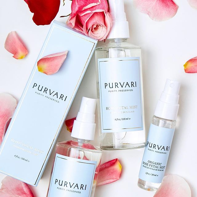 Refresh, reinvigorate and reclaim your beauty. Spritz away and pamper your skin with Purvari's completely organic Rose Petal Mist. 🌹Starting today receive 25% OFF your ENTIRE ORDER at Purvari.com. . . . #purvari #rosewater #farmboundpharmfree #skincareproduct #skincare