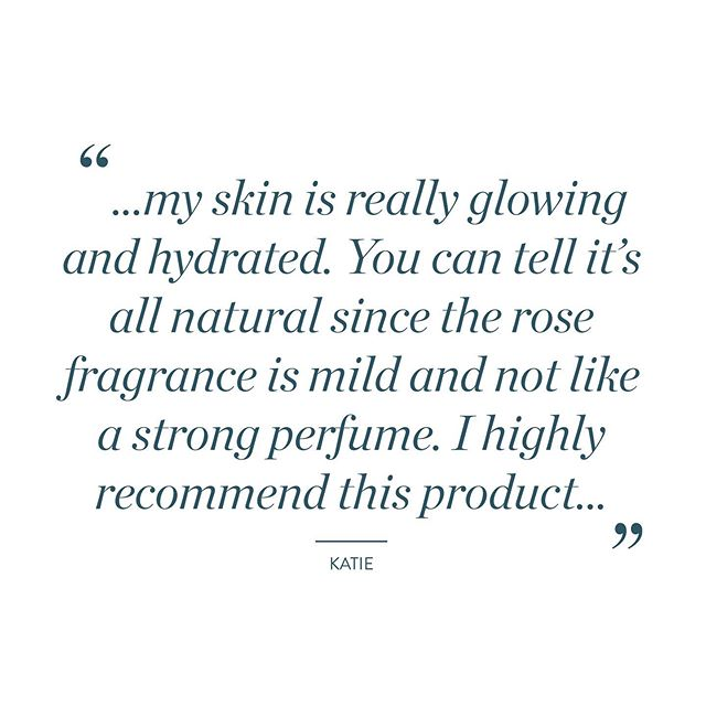 "Katie, you have us blushing! Thank you so much. We're thrilled you're enjoying the mist 💕✨🙌 ""I love this rose medal mist! I have been using it each day for over a week now and my skin is really glowing and hydrated. You can tell it's all natural since the rose fragrance is mild and not like a strong perfume. I use this every morning and night. The packaging is a glass bottle and the pump mists your face perfectly. You can tell the cost is due to quality product inside and packaging outside. I highly recommend this product and will continue to use everyday. The brand story is also what draws me closer to this product. The owner/creator being an Indian woman who only wants quality products that truly are all natural really makes me love it even more. Can't wait to see the other products she comes up with."" -Katie . #purvari #rosewaterspray #rosemist #rosewater #farmboundpharmfree #graditude"