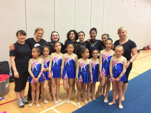 KATI TIHANE - PERFORMANCE TEAM COACHPictured second from the leftFormer member of the Canadian National Team for Rhythmic GymnasticsKati is a fully trained rhythmic gymnastics coach