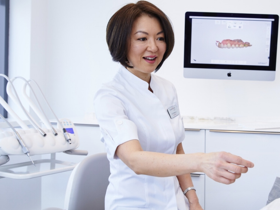 Dr. Christine Lo, DMD - In 1987, Dr. Christine Lo received her Doctor of Medicine in Dentistry degree from the University of Sheffield in the United Kingdom. She began her dental career working in both London and Hong Kong. Dr. Lo completed her prosthodontics specialty degree at Boston University in 1992. She continued there as an assistant clinical professor for 10 years in the Department of Postgraduate Prosthodontics.Dr. Lo is proud to share her expertise in prosthodontics with the patients of Smile Design Boston. She has also been an associate at the Restorative Dental Group of Cambridge since 2002.