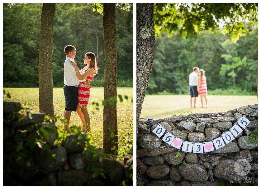 Turezyn Daponte Engagement Rhode Island June 13 2015 sign