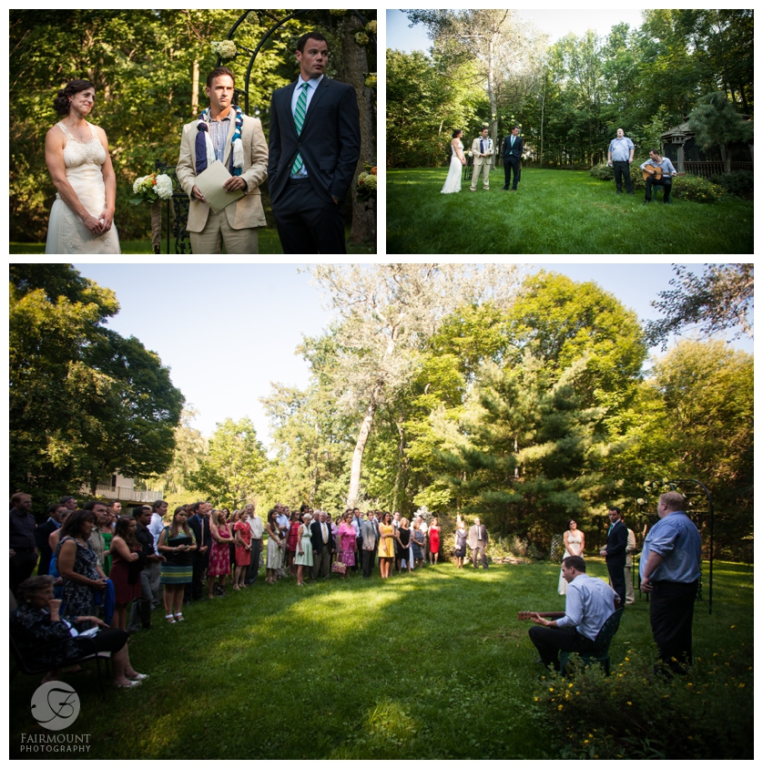 15-Wedding Ceremony With Guests Standing