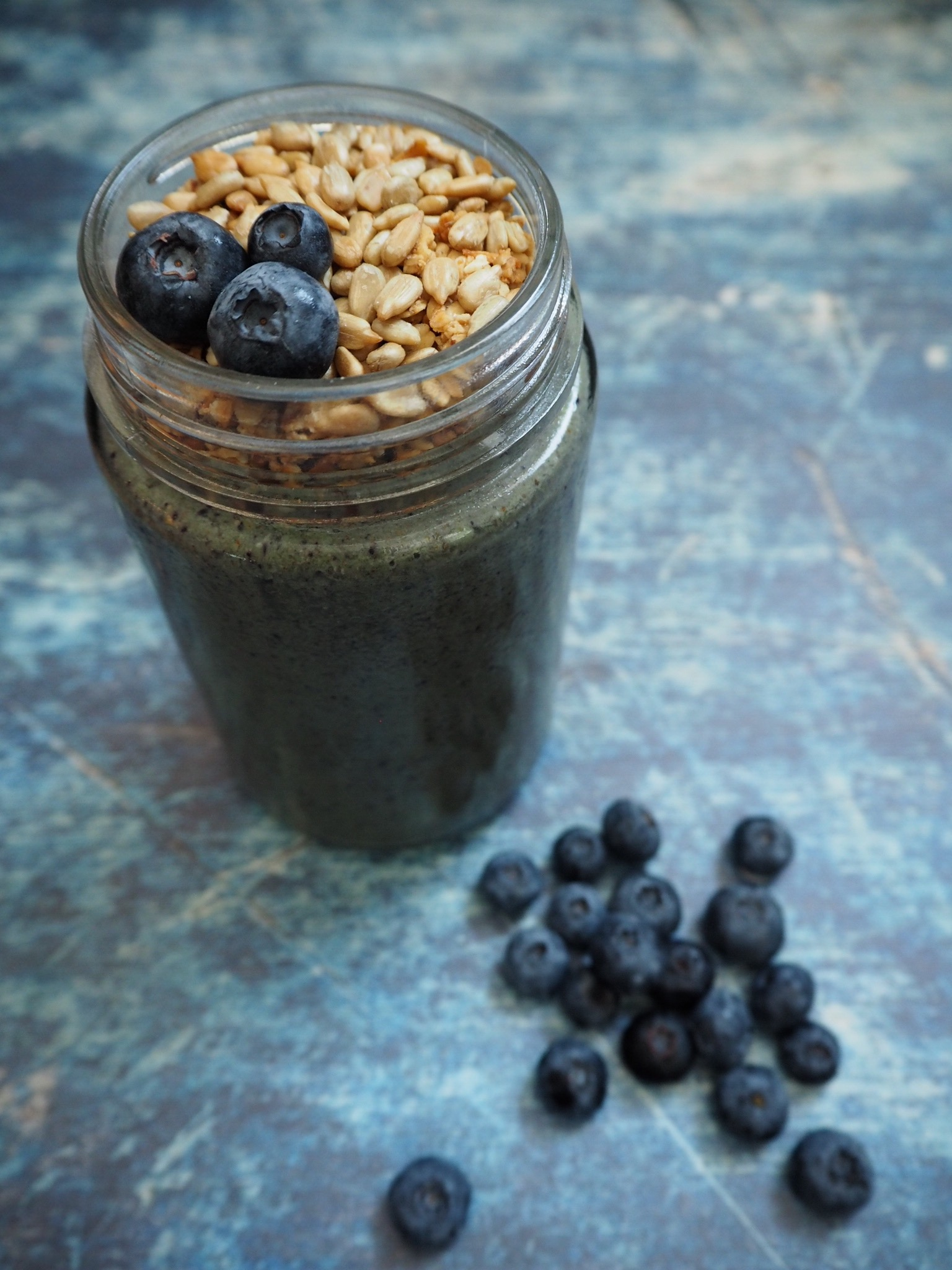 Blueberry Coconut Smoothie 02