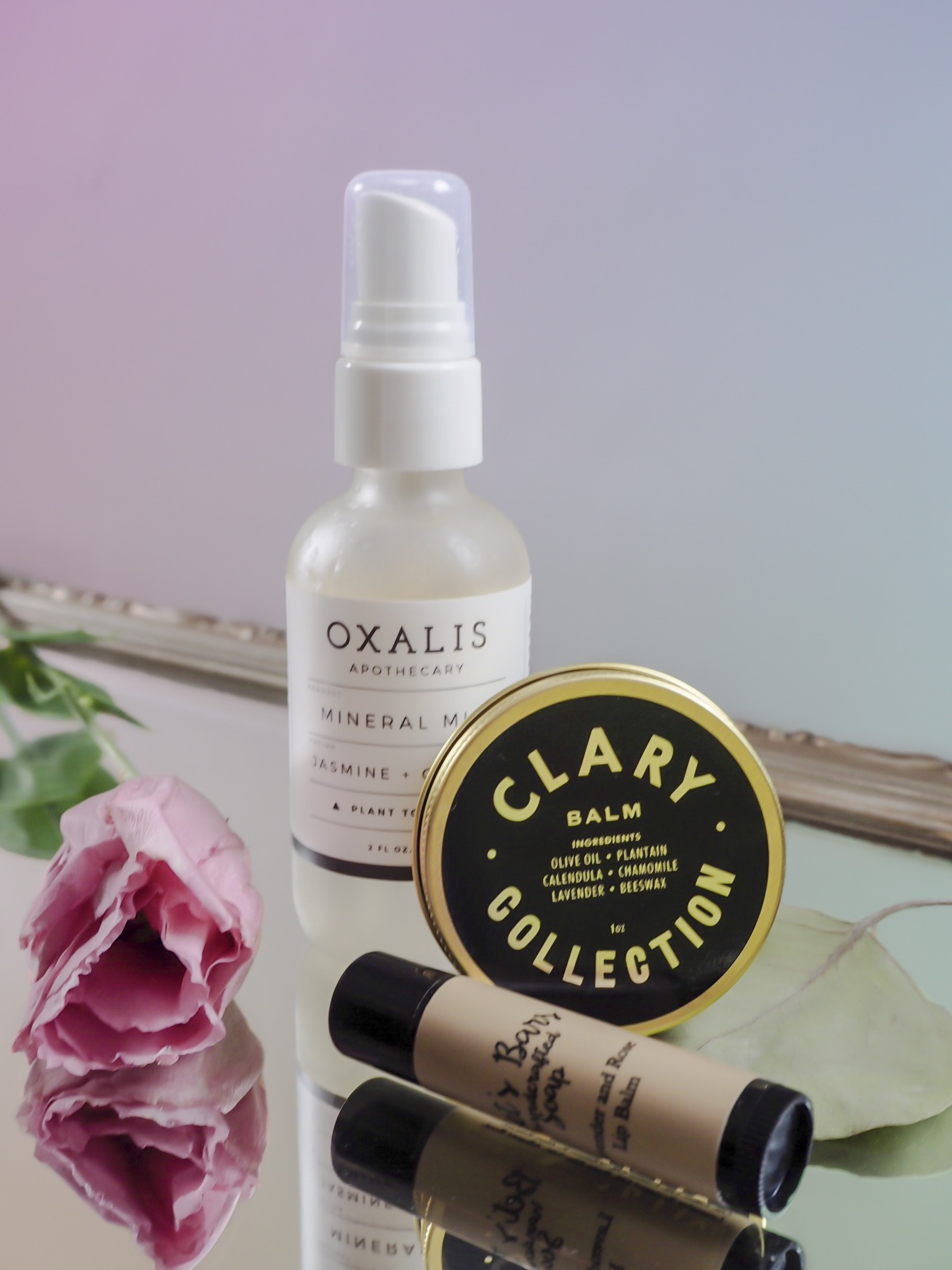 All Natural Beauty Bag essentials by W+W