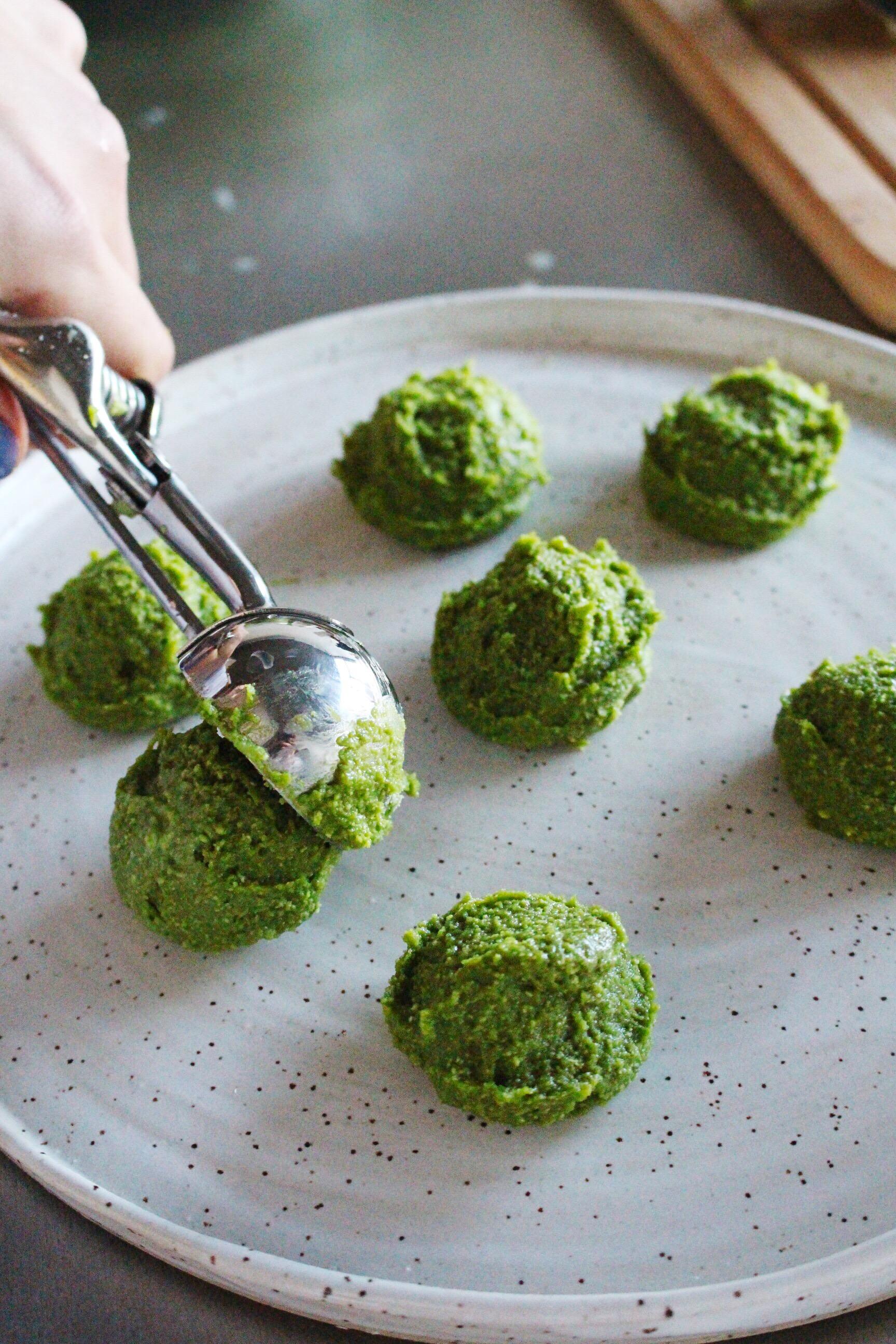 Matcha Cake Bites Recipe