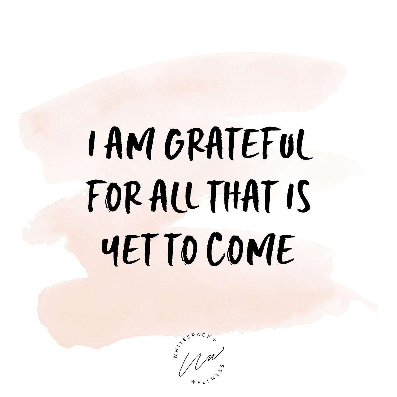 Gratitude Mantra by Tiffany Napper