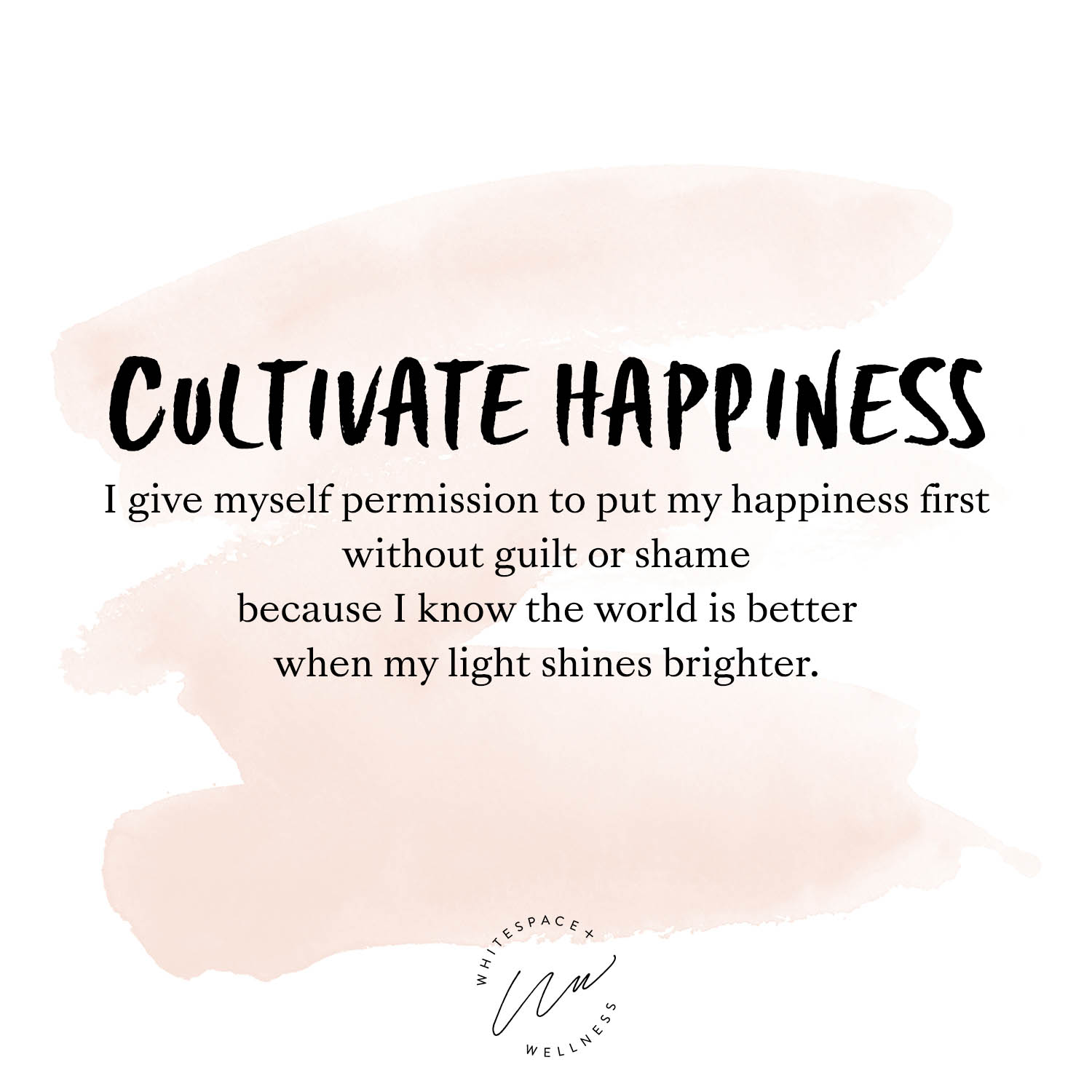 Cultivate Happiness