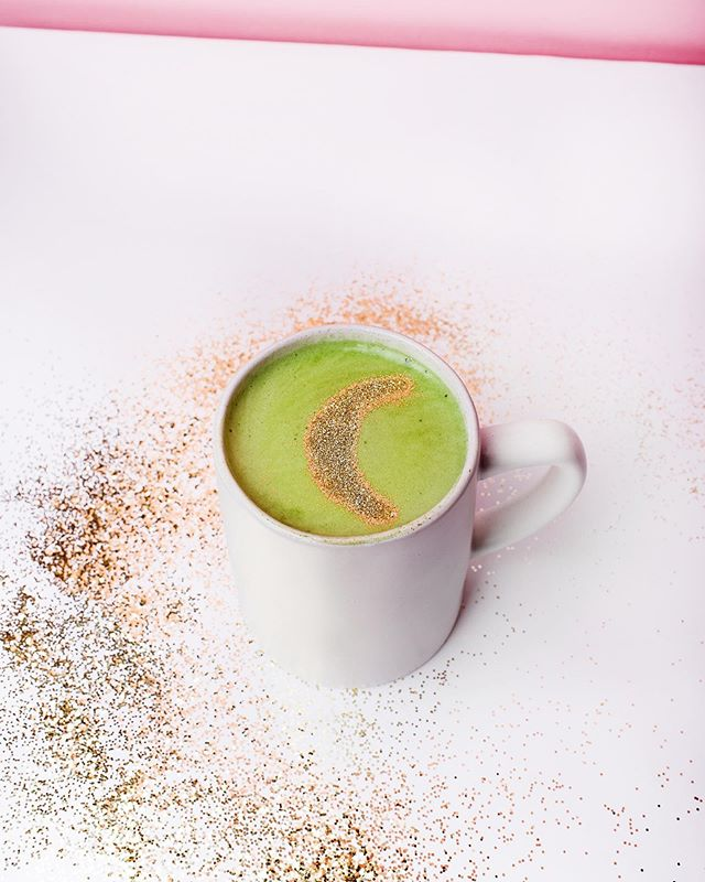 """3️⃣ daily reminders: ⠀⠀⠀⠀⠀⠀⠀⠀⠀ 1. You have the power to change your story. Pick up the pen and write the next chapter. 2. You are beautiful. Period. 3. #MysticalMatcha launches today!! (Link in Bio) ⠀⠀⠀⠀⠀⠀⠀⠀⠀ Find the recipe aligned with your zodiac sign, read the mantra, and adopt a new morning ritual designed to spark more joy into your daily life. (🍵+🧘🏻♀️= peaceful mind, happy place) ⠀⠀⠀⠀⠀⠀⠀⠀⠀ Even if you've never tried matcha before, I promise you'll find a recipe in here you'll love. A matcha vanilla bean milkshake? Yep, it's in there. A matcha collins perhaps? Or maybe you're more the mocha matcha kinda gal. Or CBD lavender matcha to ease some anxiety and get a good night's sleep. 💜😴 ⠀⠀⠀⠀⠀⠀⠀⠀⠀ It's only $12 and your support means THE 🌍 to me. As they always say, """"Teach a lady to whisk and she'll never go matcha-less again!"""" 😉 ⠀⠀⠀⠀⠀⠀⠀⠀⠀ Oh and P.S. did I mention several of my favorite brands have provided exclusive discounts in the back of the e-book?!?! I'm talking 25%, BOGO, free shipping, etc. And I show you what to buy to make the pretty glitter moon latte art you see here. What a thrill to bring this from my heart to yours. I hope you love it. 💚 XO Your #MatchaQueen 4 life"""