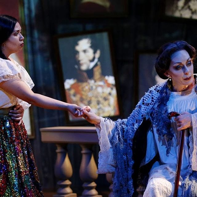 Even far away I am still dreaming of the Emperor and Empress of Mexico ✨ Go see the final week of the world premiere of Adios Mama Carlota! @sanjosestage