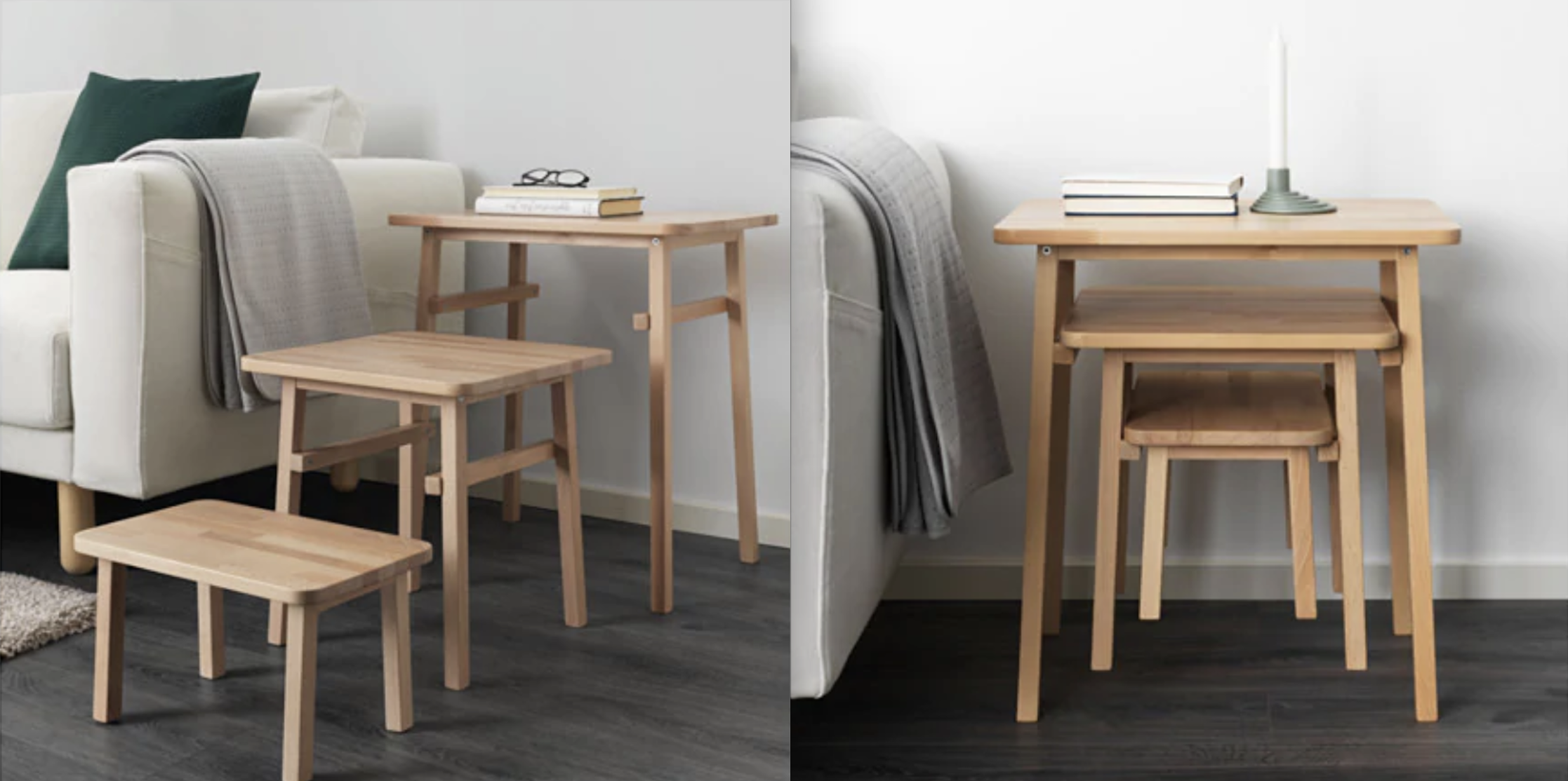 YPPERLIG Nest of tables. IKEA. €60 ex. P&P. 2 day delivery.