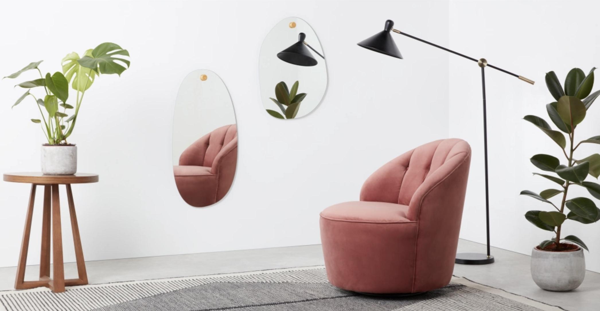 The Coco Medium Wall Mirror. Made.com. €79 ex. P&P. 3-5 days delivery.
