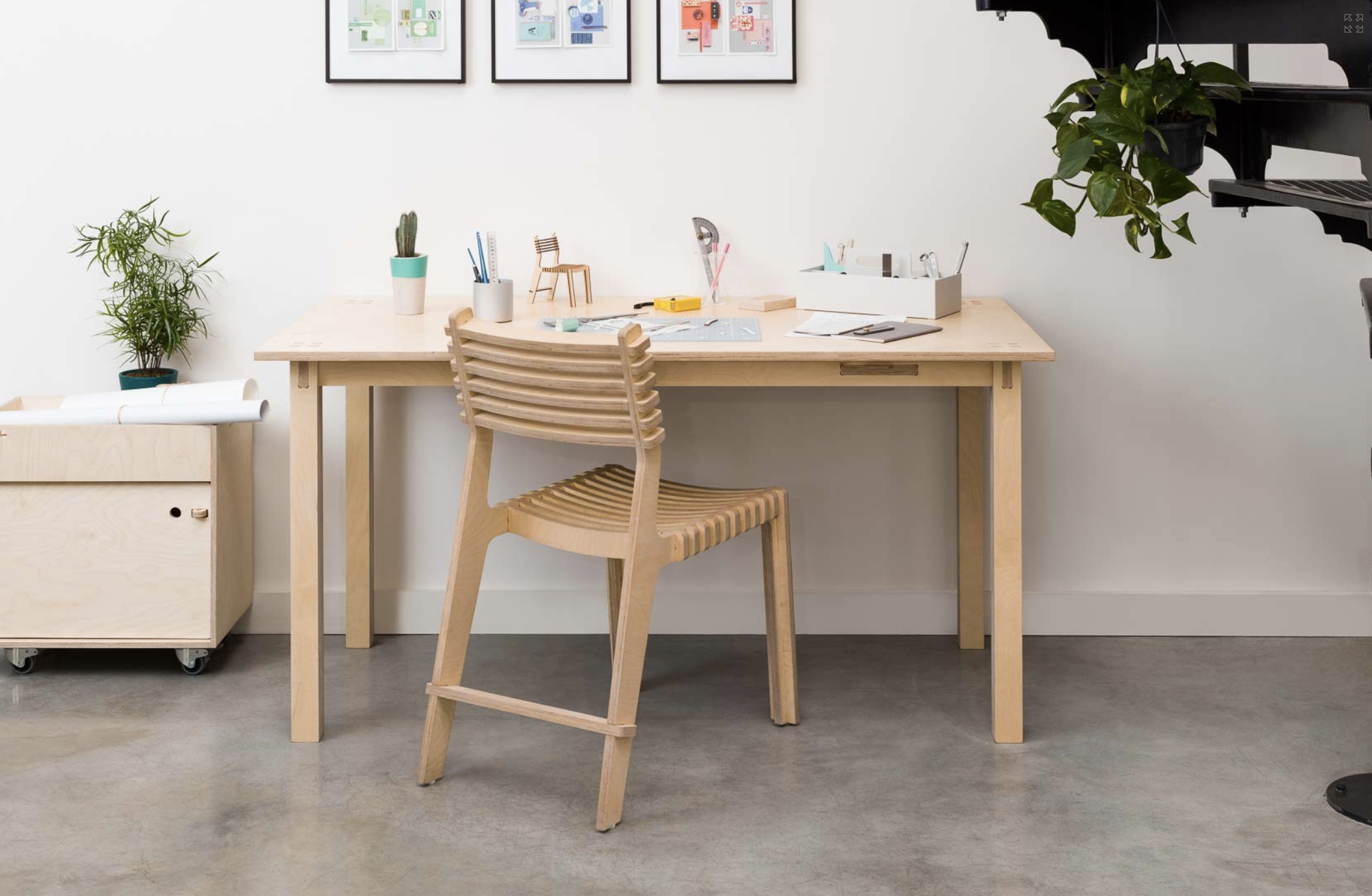 The Valoví Chair is a charming multi-functional side chair, designed with a curved seat and back for greater comfort. €360 – €490 for 2.