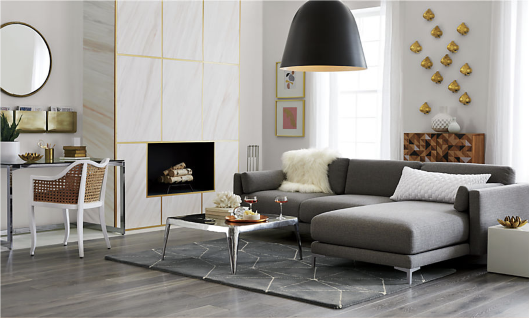 District 2-Piece Sectional Sofa, €1890