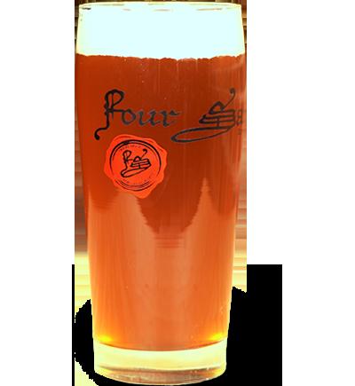 The Beam Graf (Apple Ale) - ABV 8.0 • IBU 10.6 • SRM 23.0Suggested Serving Temp: 50-55°F