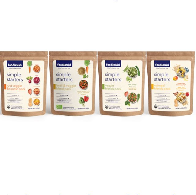 I am so excited to finally announce a very special project that I have been working on (besides birthing another human)! Introducing a new concept in the baby food space: FoodieKid Simple Starters. It's a baby food line with packets of pre-portioned, prepped and flash frozen ingredients to lock in nutrients and fresh taste. Parents choose the texture and flavors that work for their little ones using suggested recipes.  When the founder, Christine Topalian Agha @ctopalian approached me in October with the idea I couldn't wait to help create a flexible and time saving solution for homemade, organic, delicious, and flavorful baby and toddler food and jumped on board.  Nine months later we are in stores and initially focusing on the Brooklyn market. All mom developed, nutritionist approved.  Follow @foodiekid and visit www.foodiekid.com to find out where you can try Simple Starters yourself!  #babyfoodyourway #simplestarters #futurefoodie #foodiekid #foodiekidco #tinytasters