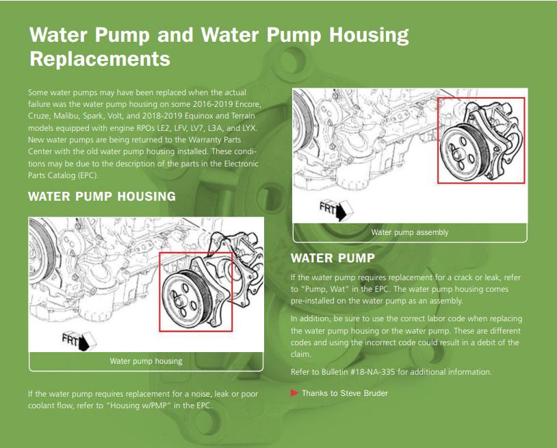 Water Pump — Blog — Valero Law, APC