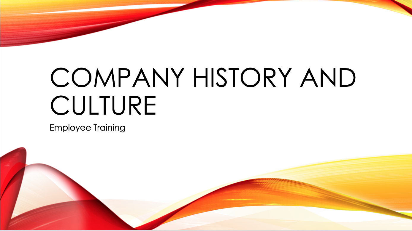Company History and Culture