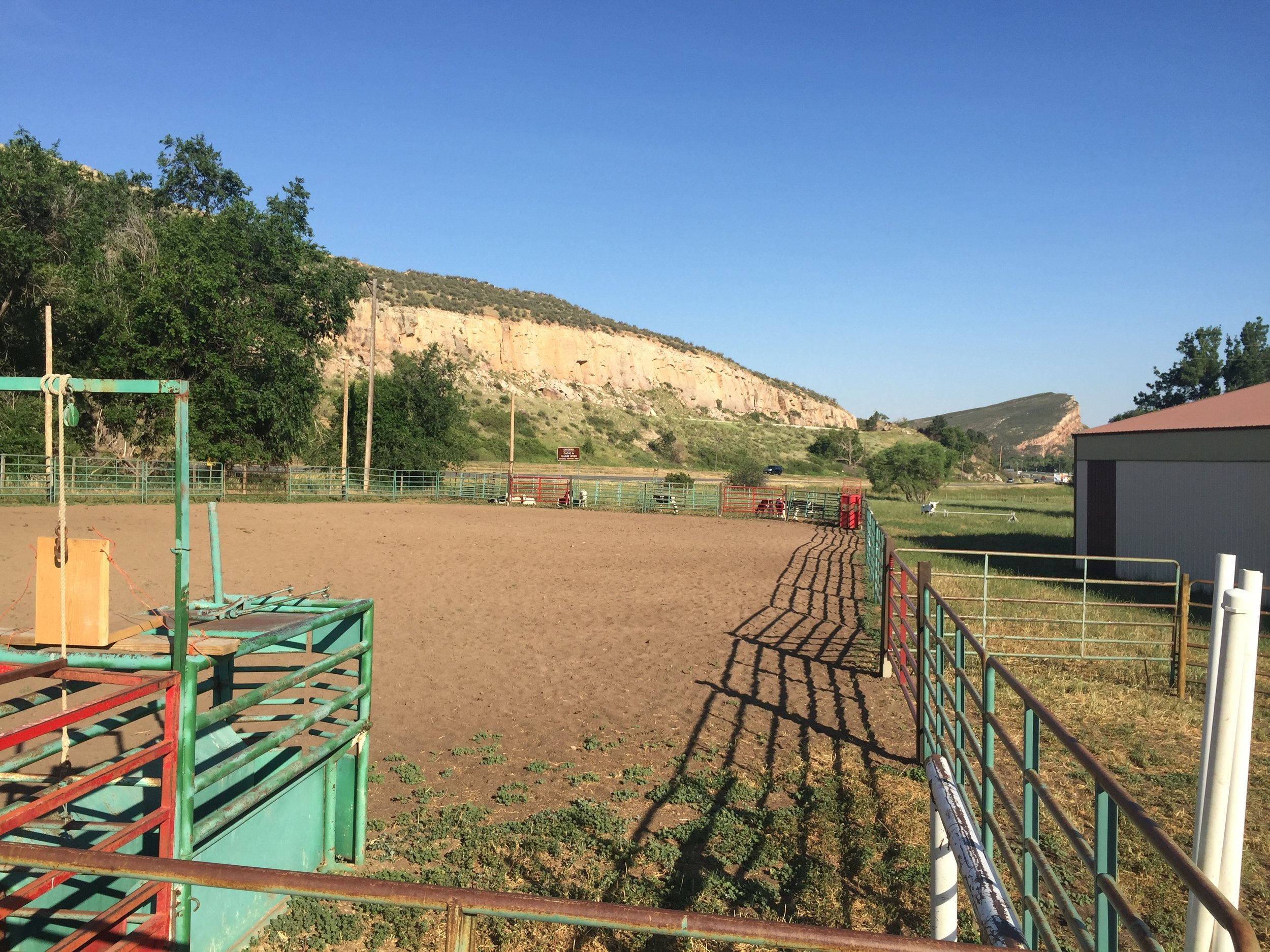 Outdoor Roping Arena