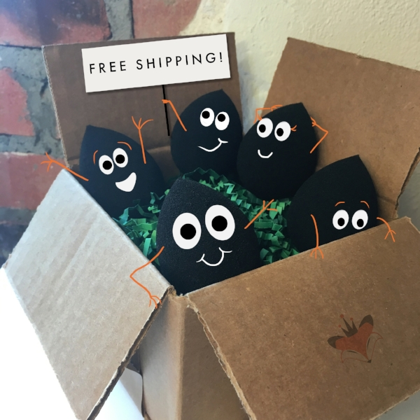 Our sponges are so excited to arrive at your house!