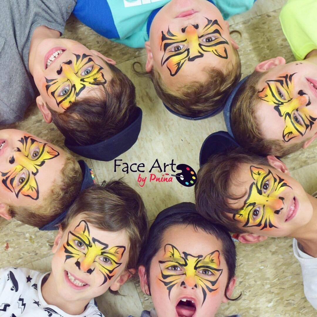 Fast_Tiger_Face_paint