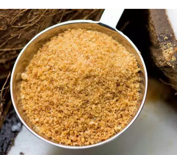Coconut Sugar .. - Also called Coconut Palm Sugar does have quite a bit of the nutrients found in the coconut palm. For instance, zinc, calcium and potassium, along with some short-chain fatty acids like polyphenols and antioxidants.Despite frequent claims that coconut sugar is fructose-free, it's made of 70–80% sucrose, which is half fructose.So basically coconut sugar supplies almost the same amount of fructose as regular sugar, gram for gram.Finally note from my observation as far as taste is it is good but not quite as sweet when replacing in recipes.