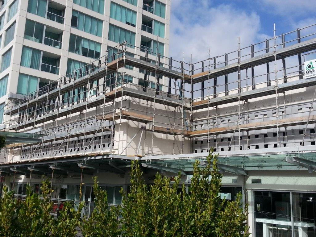 Sentinal Under Construction with Scaffolding Up.jpg