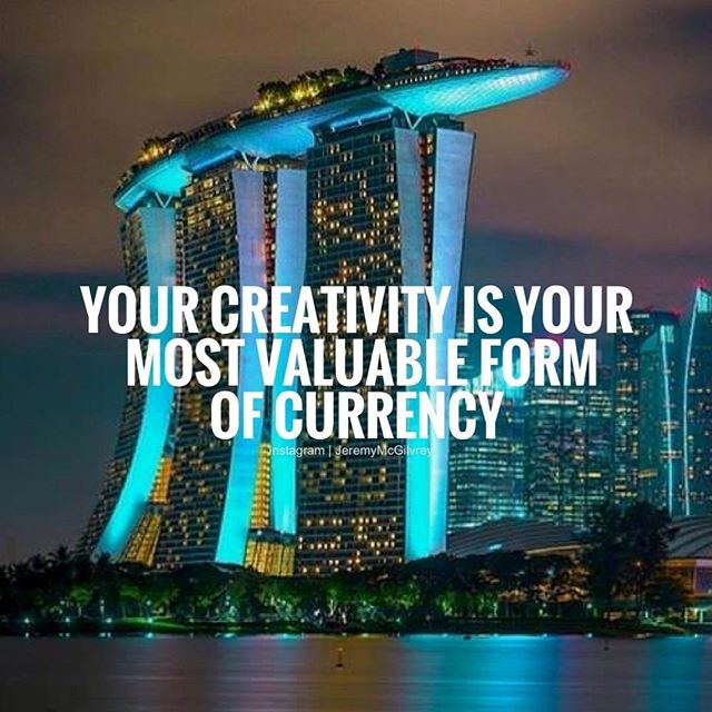 The more use it, the more creative you will be!
