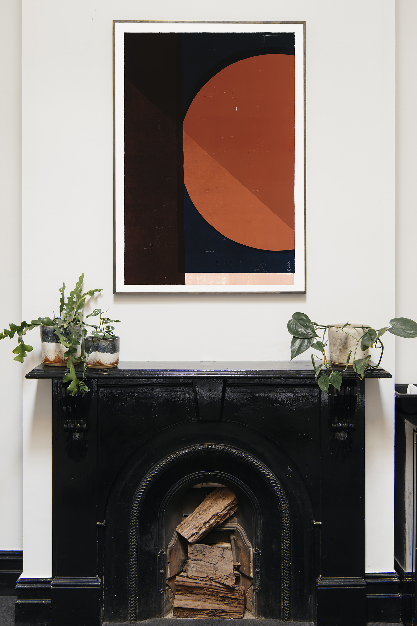 Broadsheet kitchen plant styling in collaboration with Samantha Eades design