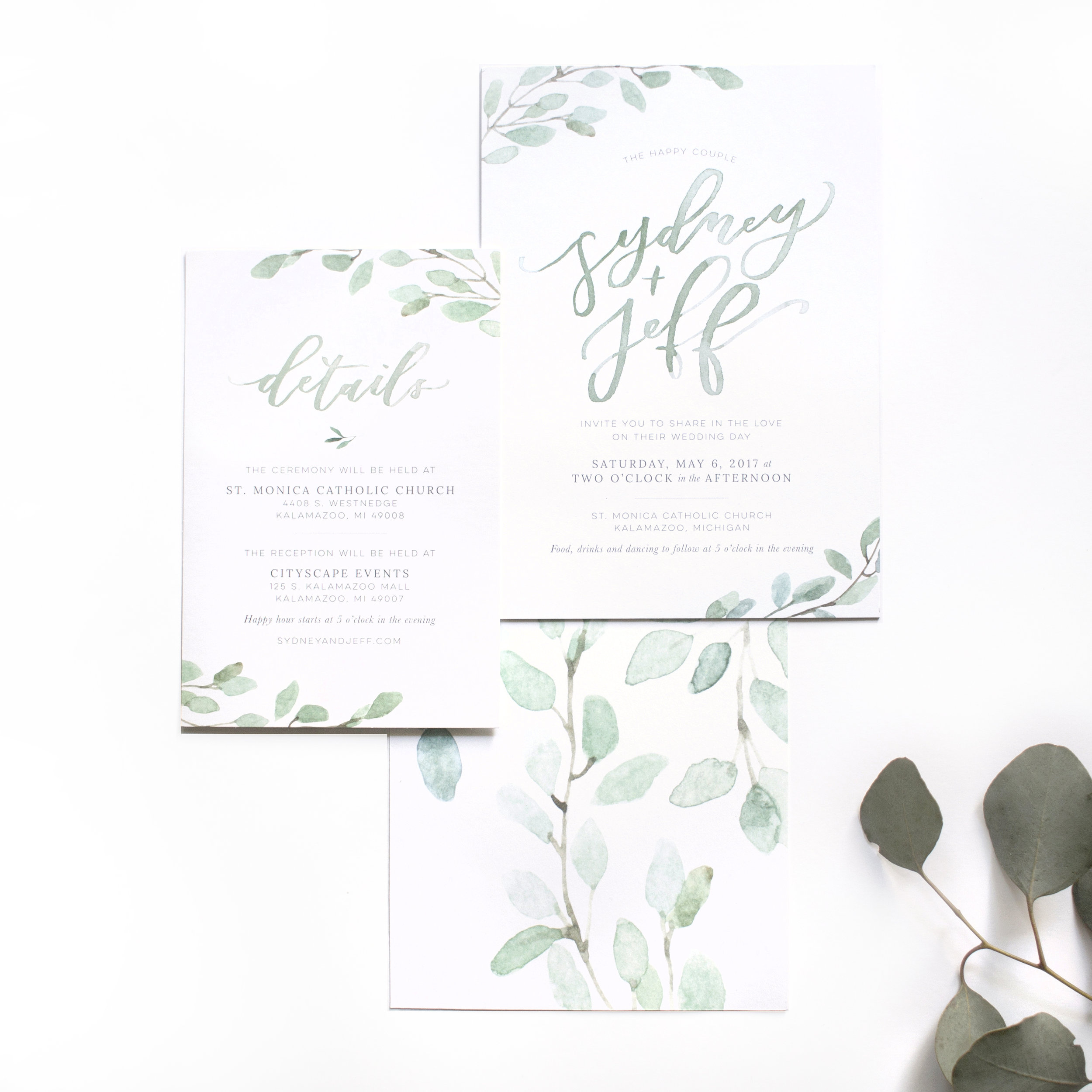 Invitation Suite - Sydney + Jeff