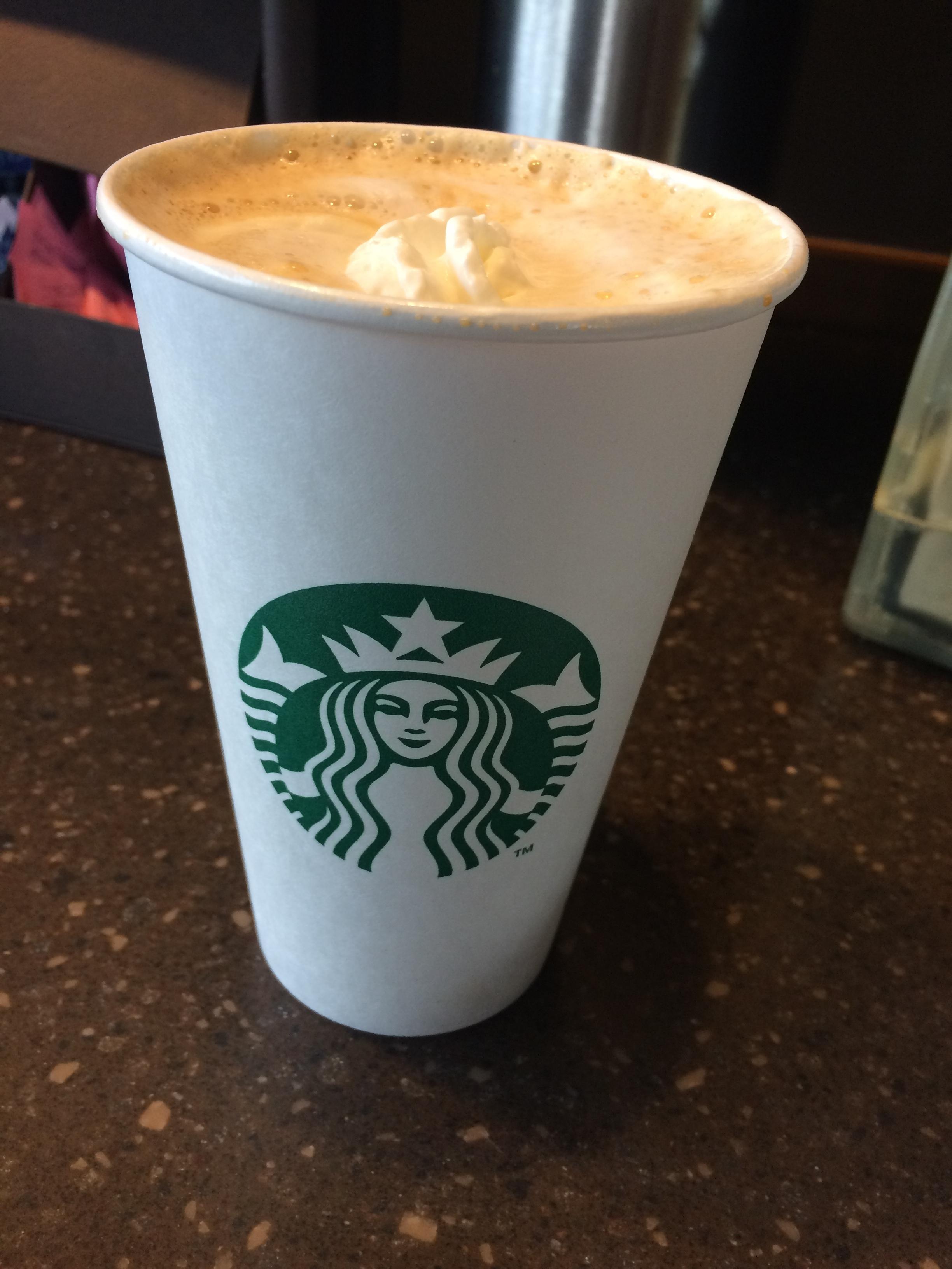 Caffeinated Pumpkin Spice Latte
