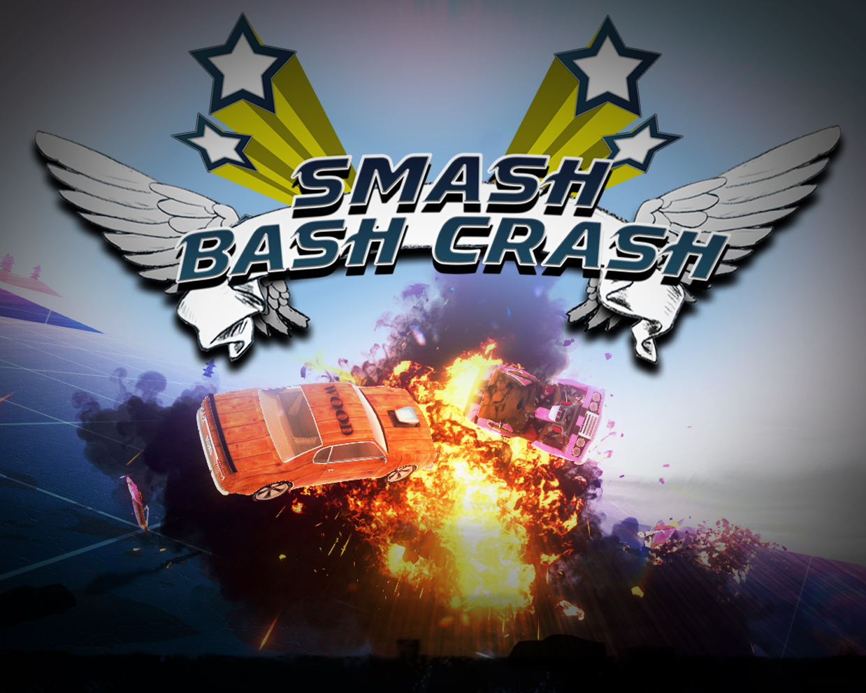 - Smash Bash Crash is a local multiplayer shoot 'em up, smash 'em up game for up to 4 players. Play against your friends, or if you prefer against AI opponents.