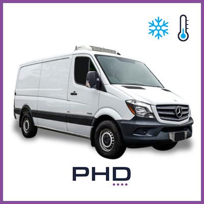 2 or 3 Pallet Van - 2 or 3 Pallet Refrigerated Van (Mercedes Sprinter)$129 (Daily rate)
