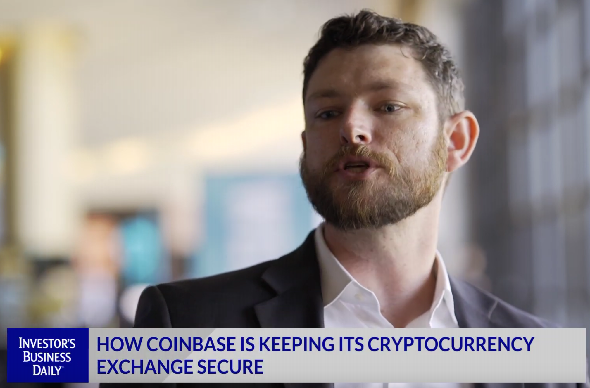 Coinbase's Philip Martin speaks to Investors Business Daily -