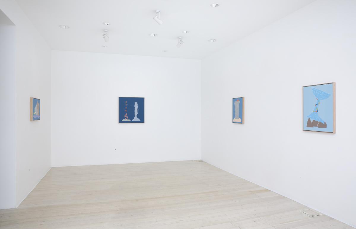 Michelle Hanlin, artist, exhibition, gallery 9