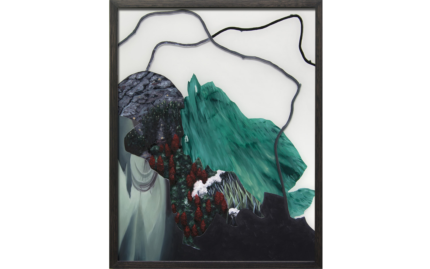 ALICE WORMALD  is a finalist in the Bayside Acquisitive Art Prize with  Wavered  2016, oil on front and back of glass, 51 × 40 cm. Bayside Arts Centre, 7 May – 26 June 2017