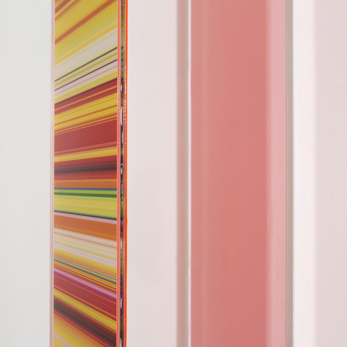 PAUL SNELL  Lumina # 201601  (detail) Lambda print face-mounted to 4.5mm Plexiglas box 180 × 12 × 12 cm