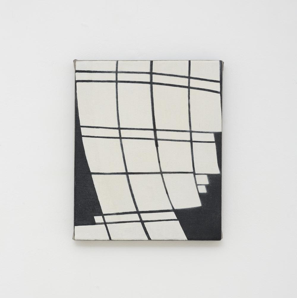 JULIAN HOOPER  Blind Love  2017 acrylic on canvas 25 × 21 cm