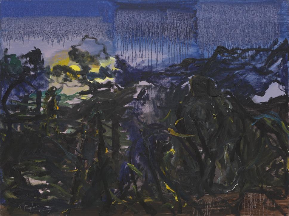 MICHAEL TAYLOR  Dissolving Moon  2015 oil on canvas 120 ×160 cm