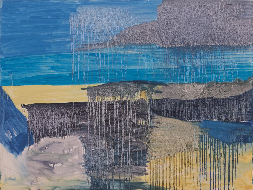 MICHAEL TAYLOR  Southern Estuary  2015 oil on canvas 120 ×160 cm