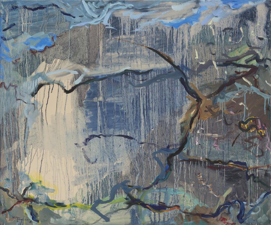 MICHAEL TAYLOR  Towards Kybeyan  2016 oil on canvas 101 ×122 cm