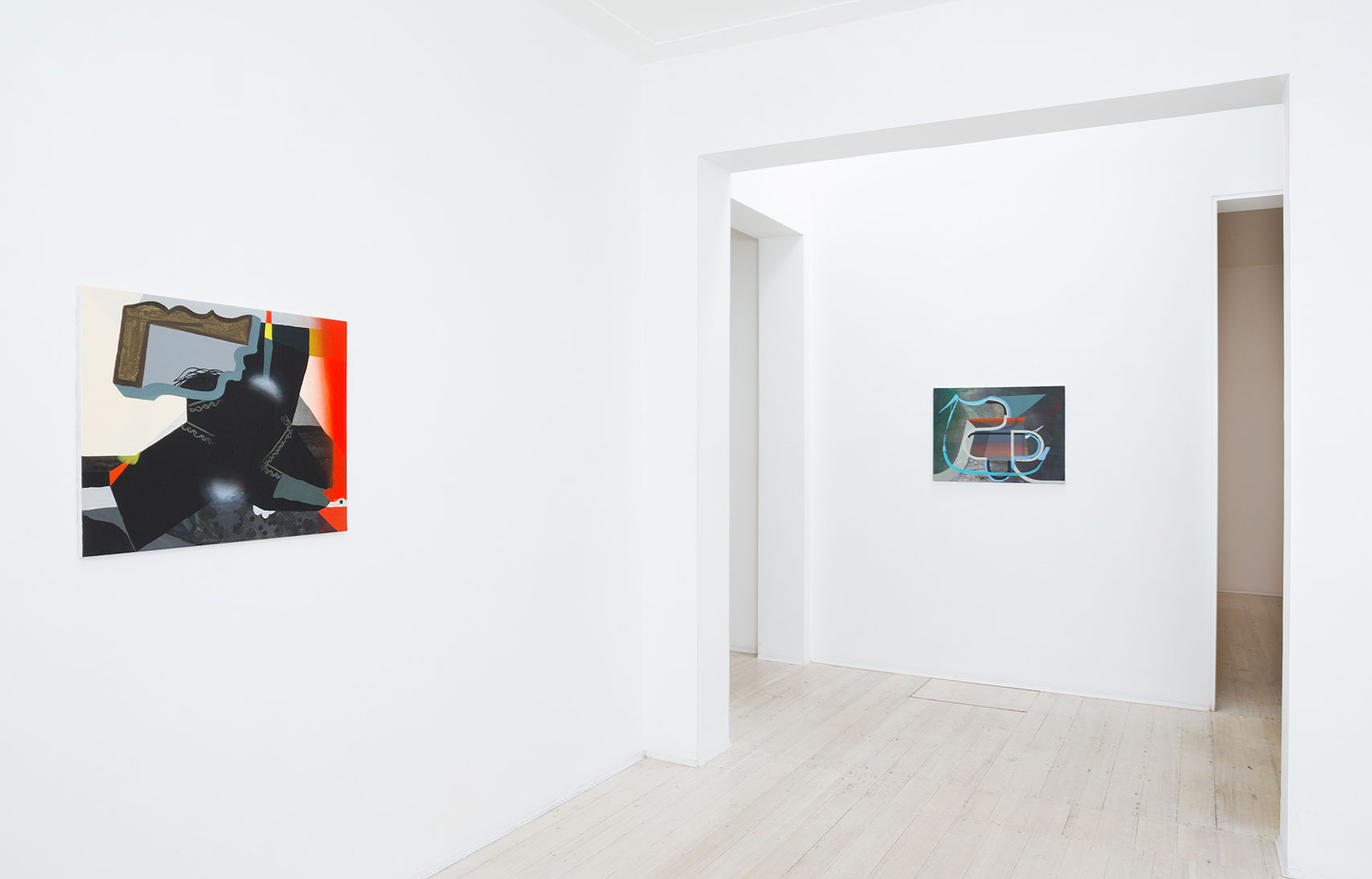 Julian Hooper, artist, exhibition, Gallery 9