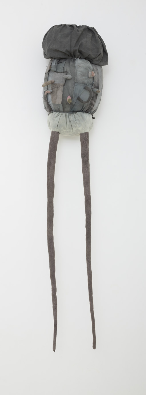 JADE PEGLER  Great Leaper  2016 fabric, thread, polyester stuffing and mixed media 190 × 80 × 80 cm