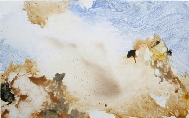 MARK RODDA  Dust Devil  2013 acrylic and oil on marine ply 49 × 79 cm