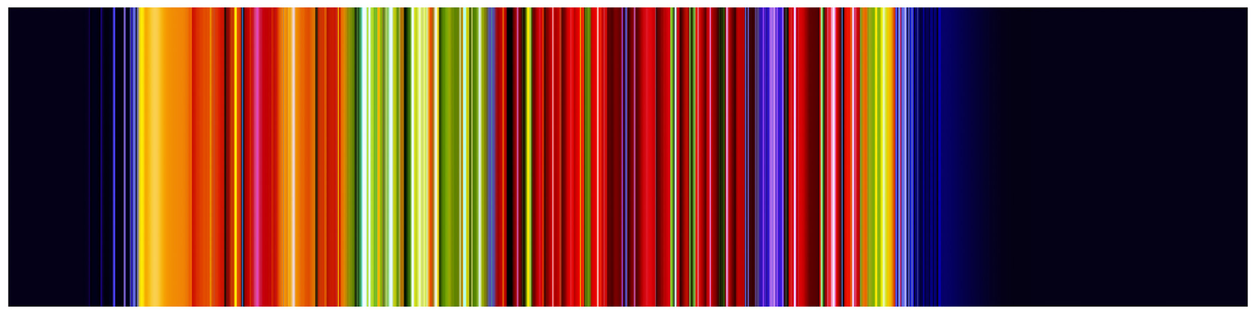 PAUL SNELL  NY # 40.57N_73.96W 2014 Lambda Print, face-mounted to 4.5mm plexiglas 75 × 300 cm