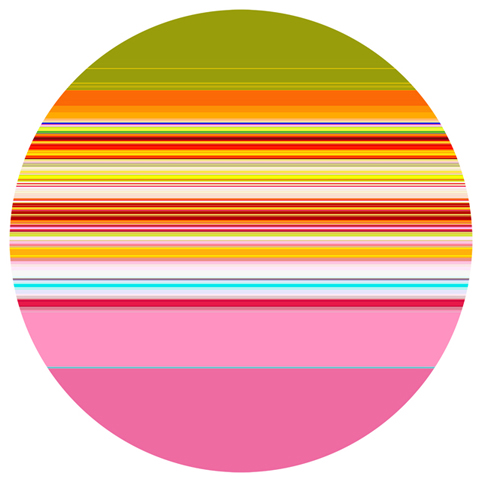 PAUL SNELL  Intersect # 201401  2015 Lambda Print facemounted to 6mm acrylic edition of 1 + 2 AP 118 cm diameter