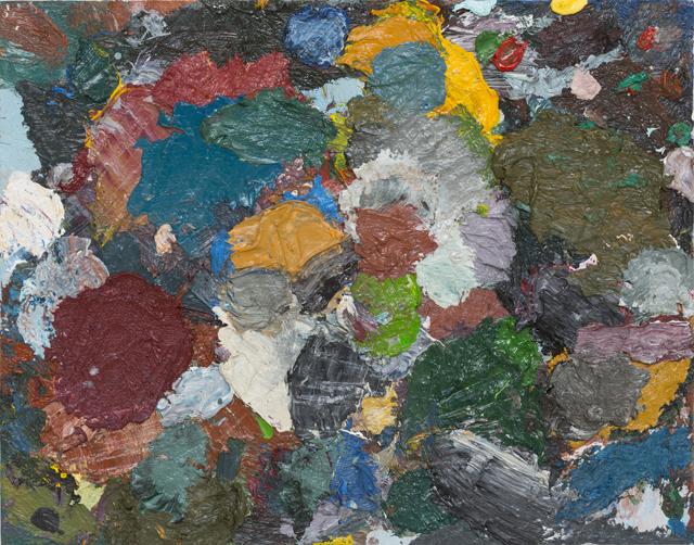 JAKE WALKER Beaconsfield Parade palette painting 3 2013 oil/alkyd on board 28 ×36 cm