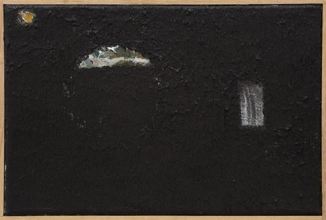 JAKE WALKER  Untitled painting 4  2010-11 oil on canvas in artist's frame 21 ×26 cm