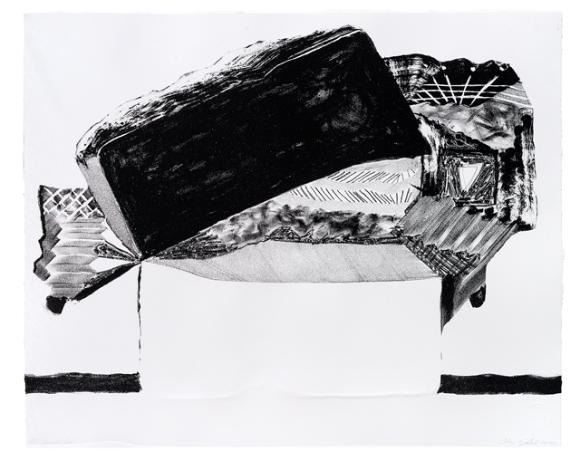 ANDRZEJ ZIELINSKI  Scanned stone  2012 lithograph on magnani paper 48 × 58.5 cm Edition of 5