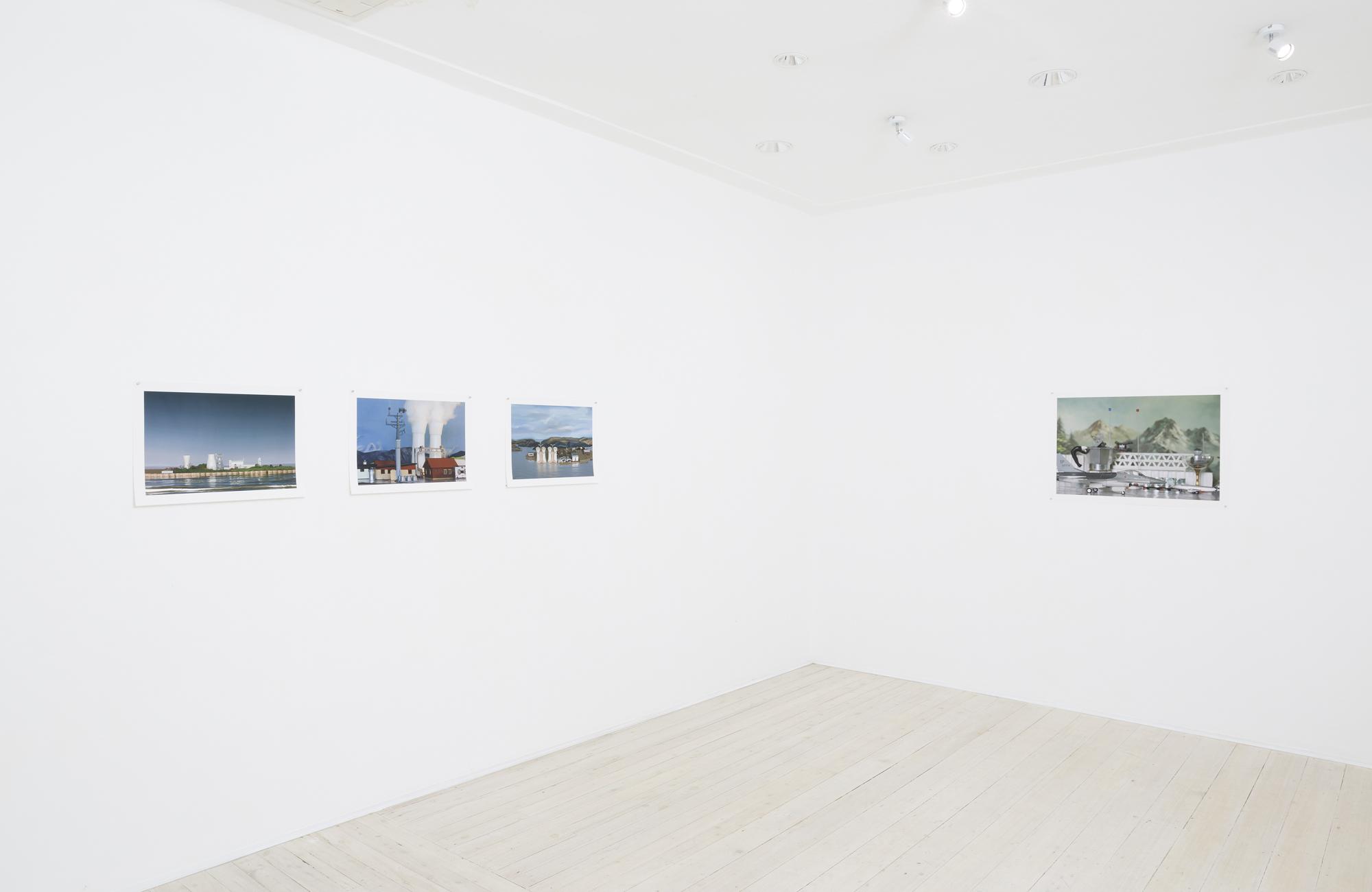 Elaine Campaner, exhibition view, Gallery 9